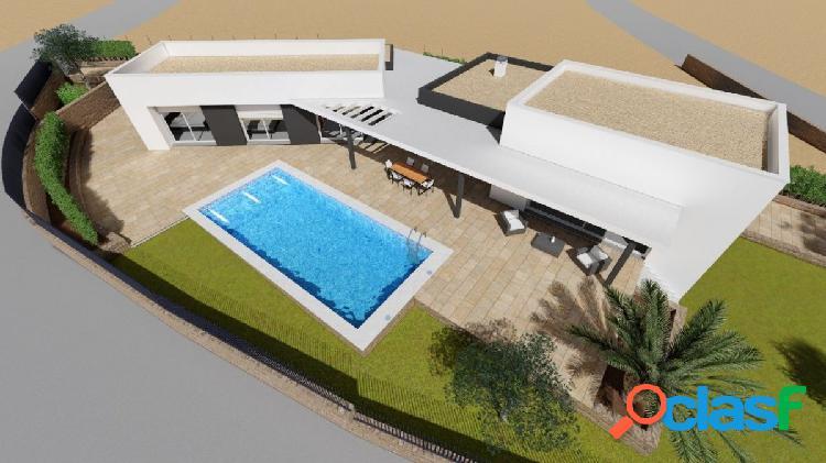 Magnífico proyecto de villa moderna en venta en Moraira