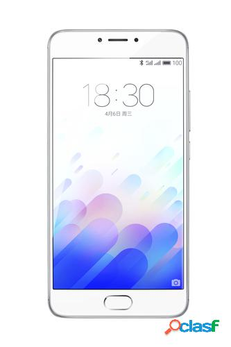 "Meizu M3 Note 14 cm (5.5"") 3 GB 32 GB SIM doble 4G Plata,"