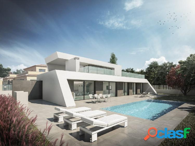 Moderna Villa de nueva construcción en venta en Calpe,