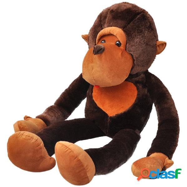 Mono de peluche marrón 100 cm