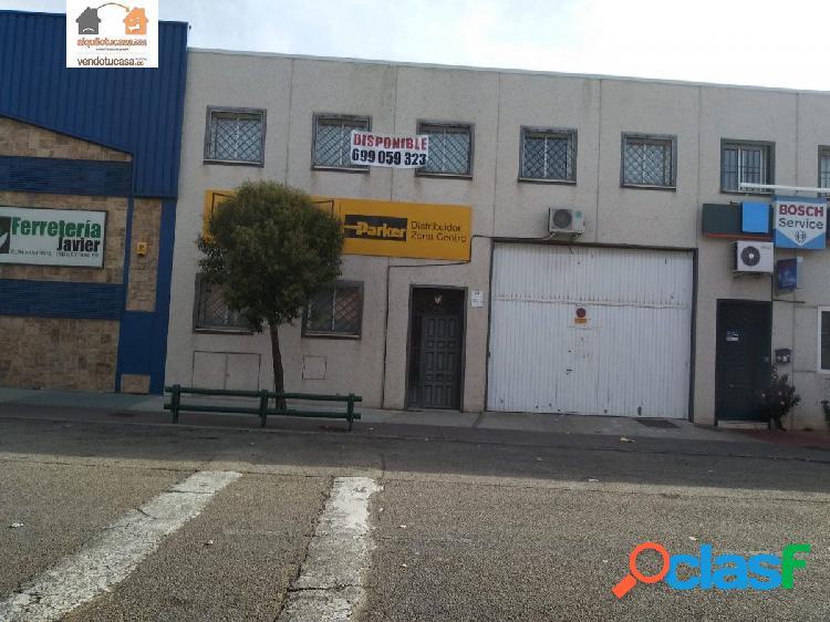 Nave Industrial Torrejon de Ardoz 290 m2+290 m2