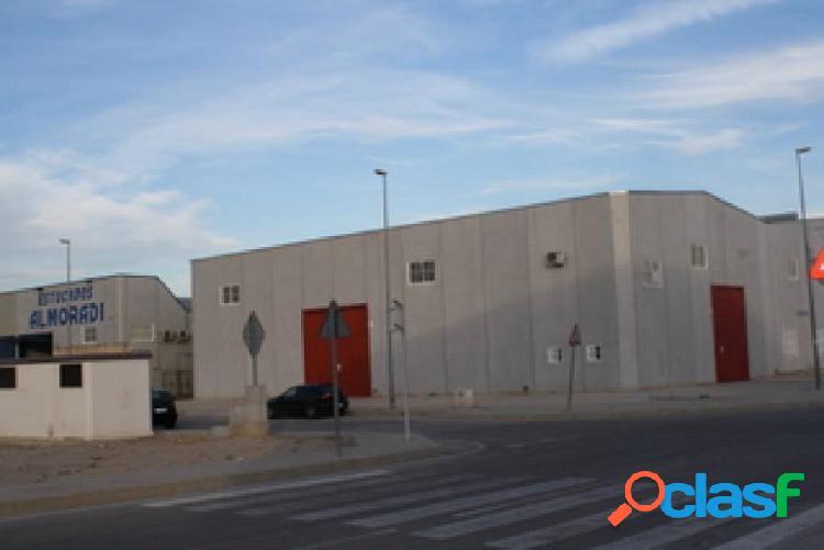 """Nave industrial en Almoradi (Poligono """"Las maromas"""")"""
