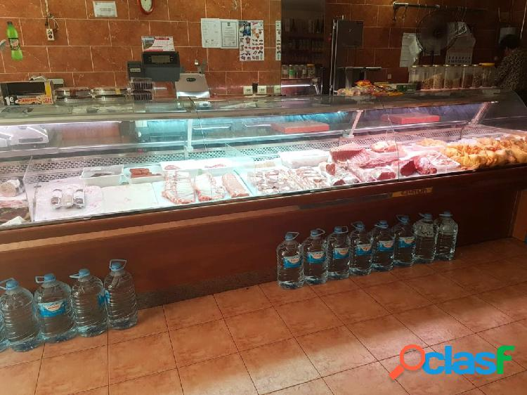 Negocio de Carnicería/Charcutería en alquiler sin traspaso