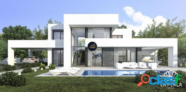 Nueva Construccion - Villa de Estilo Moderno con 3 dorm y 3