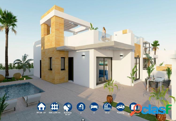 Nueva construcción de Villas Independientes con piscina