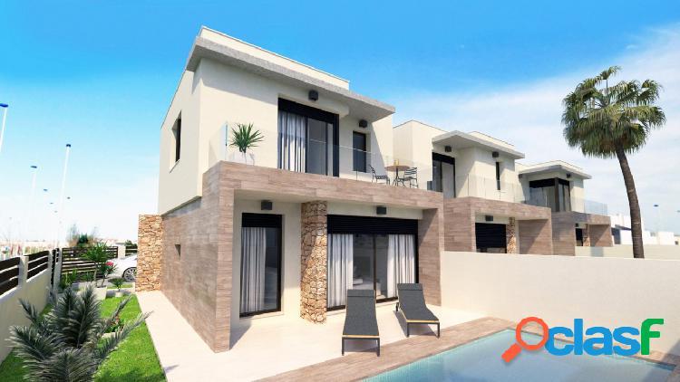 Nueva promoción de Villas independientes con piscina