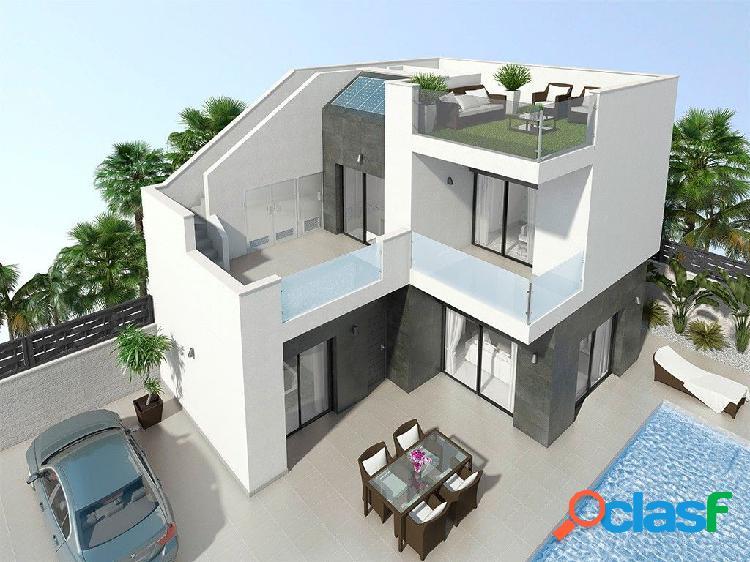 Nuevas villas con estilo moderno en benijofar
