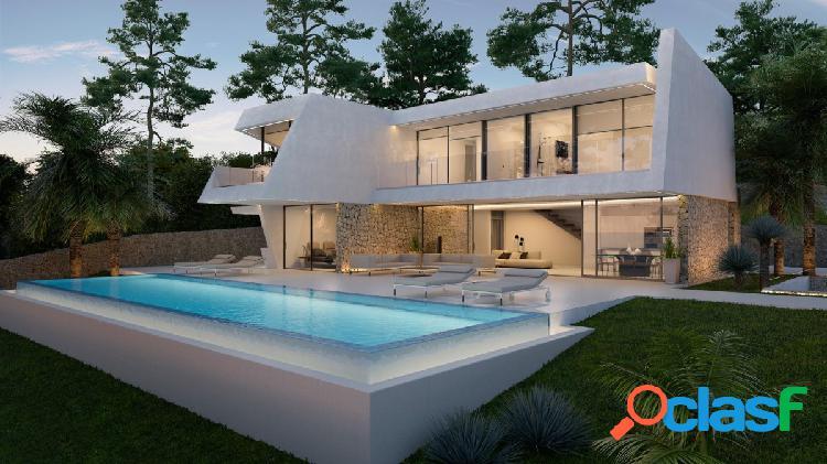 Nuevo Chalet Moderno en Venta, Vistas al Mediterráneo, en