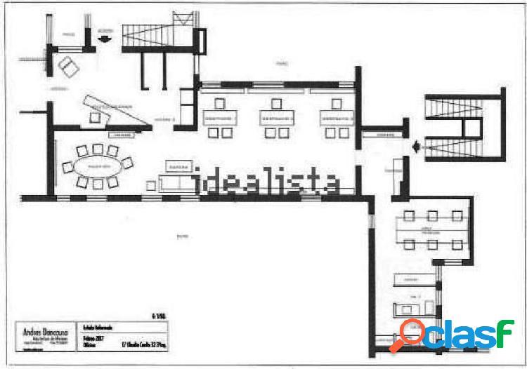 Oficina en alquiler de 150m2 en calle Claudio Coello