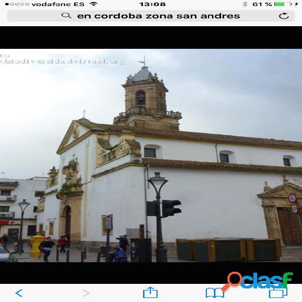 PISO MUY LUMINOSO EN ZONA DE SAN ANDRES, EXTERIOR.