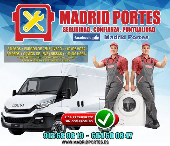 PORTES EN PINAR DEL REY/MADRID OxO8:47 MADRIDPORTES