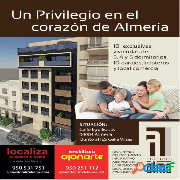 PROMOCIÓN DE VIVIENDAS EN VENTA EN EL CENTRO DE ALMERÍA.