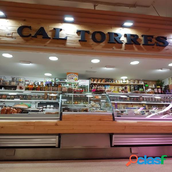 Parada en el mercado centre de Cornellà de Llobregat.