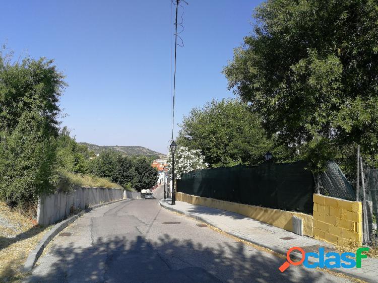 Parcela de 500 metros en Villalbilla a 10 minutos de Alcalá