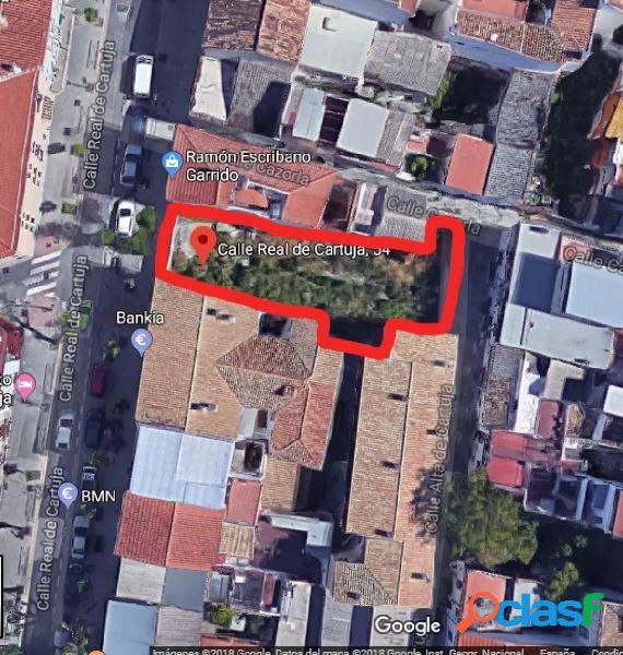 Parcela de más de 200 metros en Real de Cartuja