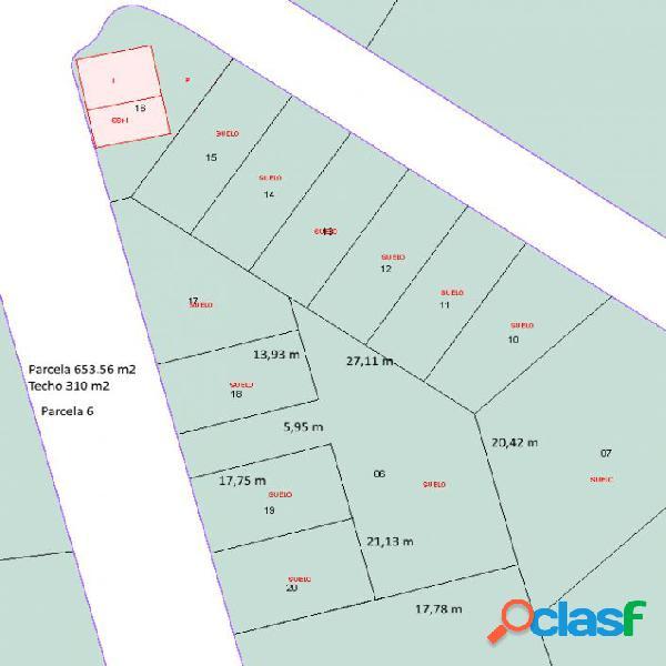 Parcela para 3 viviendas en Sup-4 Fuente del Baden