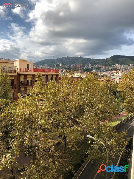 Piso en Barcelona con preciosas vistas al Tibidabo