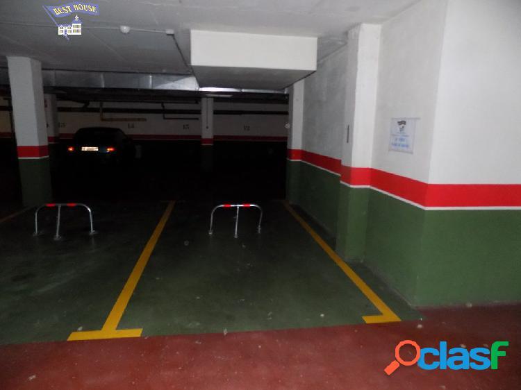 Plaza de garaje en Paseo Zorrilla-Parque Alameda