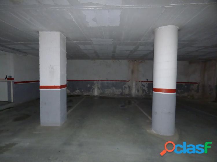 Plaza de parking en el centro de Malgrat