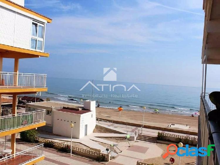 Precioso apartamento en 1ª linea de la playa de Daimús con