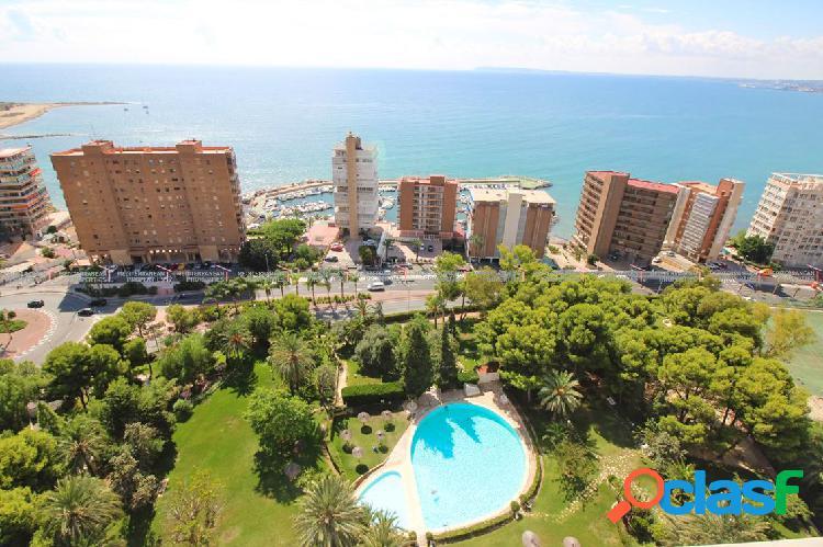 Precioso piso con vistas al mar en Albufereta, Alicante