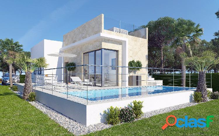 Promoción de modernas villas con excelentes vistas al Mar