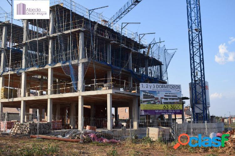 Promoción de viviendas en Marchamalo de 1 y 2 dormitorios,