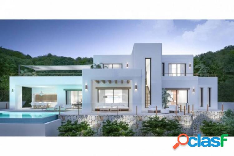Proyecto: 5 villas de estilo moderno o ibicenco en Moraira