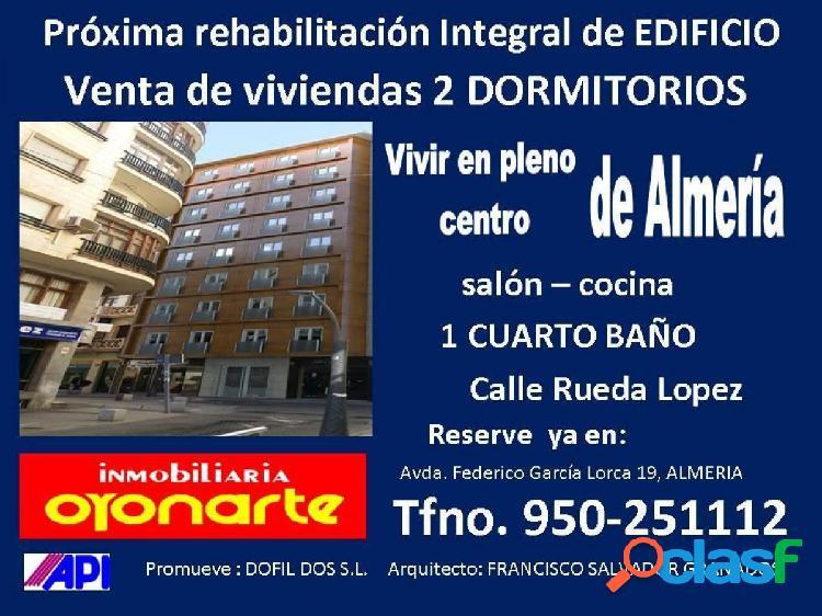 REHABILITAICION DE EDIFICIO EN EL CENTRO DE ALMERIA, CALLE