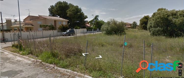 Ref. 03585 - Parcela para edificar en La Eliana