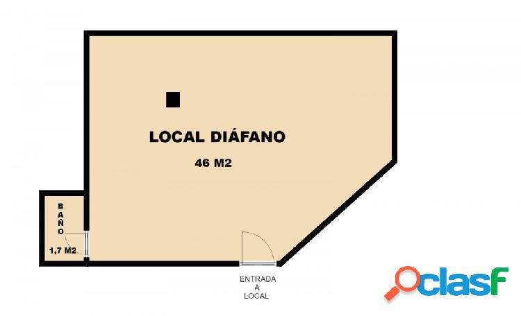 Se alquila local comercial en San José, calle Zaragoza La