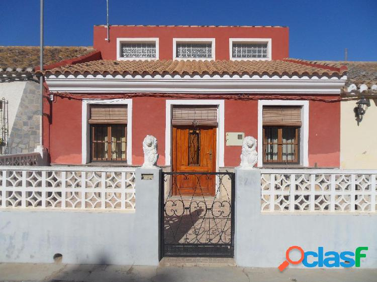 Se vende casa con terreno en Torre Pacheco