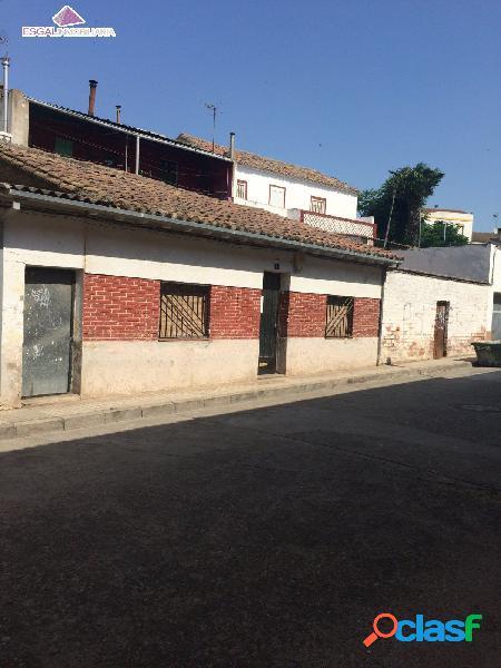 Se vende casa de planta baja para rehabilitar