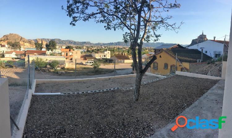 Se vende casa independiente con parcela en Monteagudo, las