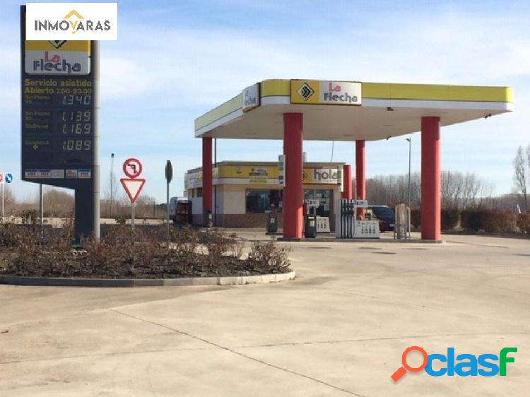 Se vende gasolinera en Aldealengua, Salamanca.