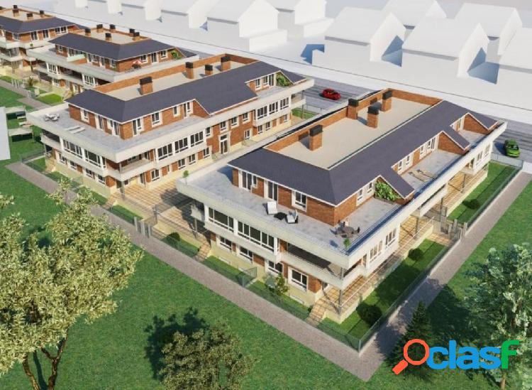 Se vende piso de obra nueva en urbanización privada,