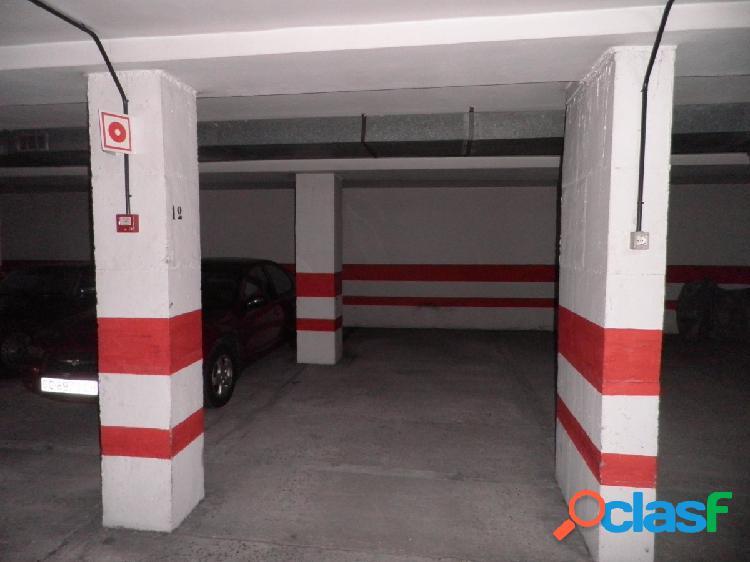 Se vende plaza de garaje cubierta en arenales