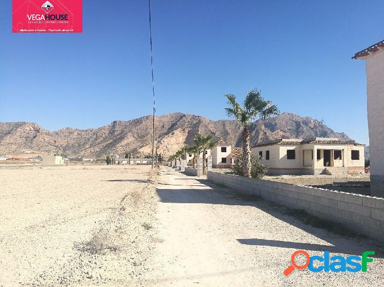 Se venden 6 chalet con parcela independiente (8.500m2)