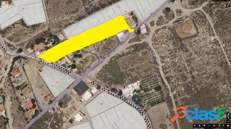 Suelo urbano sin edificar de 5.000 m2 en Los Parrales cerca