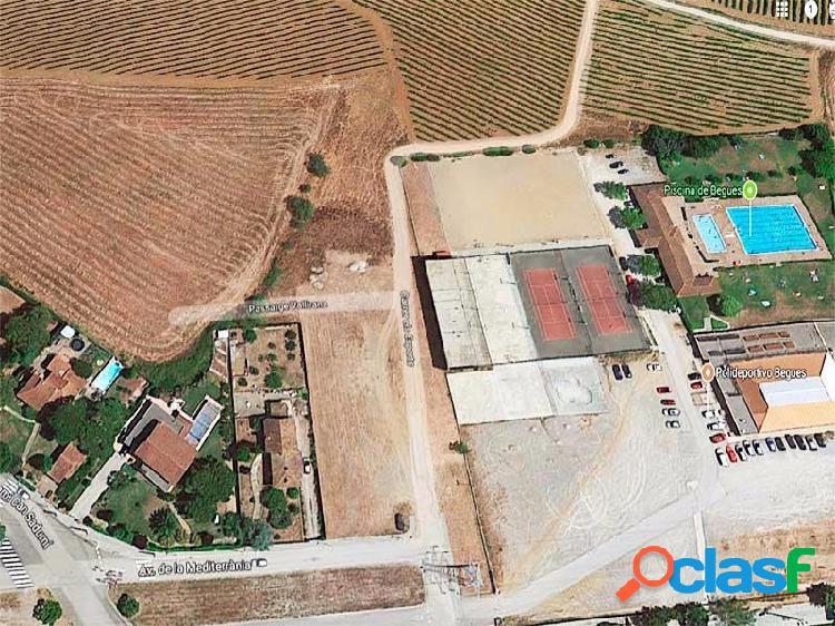 Terreno Urbanizable en Begues Can Sadurní