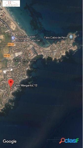 Terreno parcela en venta en Cala Flores-cabo Palos