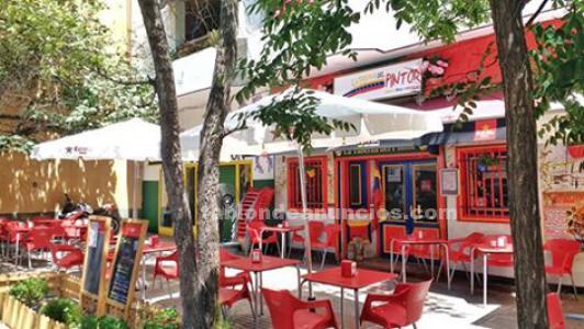 Traspaso bar cafetría de comida venezolana
