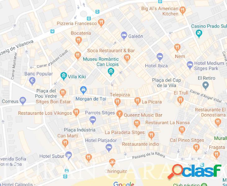 Traspaso de restaurante en centro de Sitges
