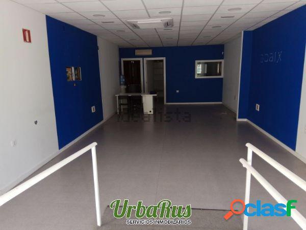 * URBARUS ALQUILA FANTASTICO LOCAL EN PARQUE SUR. Son 120 m2