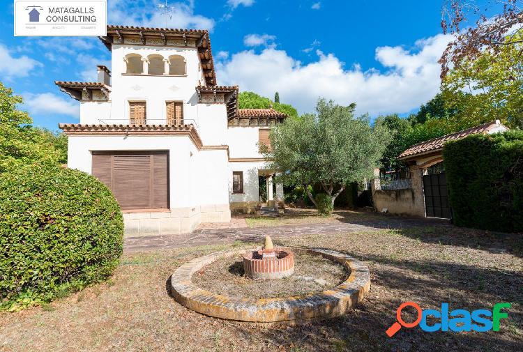 Villa Histórica en el Corazón de L'Ametlla del Vallès -