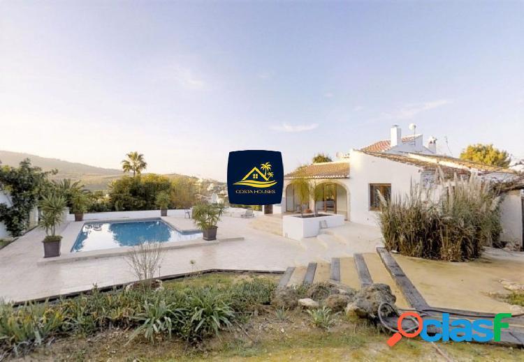 Villa Mediterránea en JAVEA · La Lluca ⛳ | COSTA HOUSES