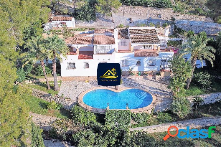 Villa Mediterránea en Javea (Rafalet), con Preciosas vistas