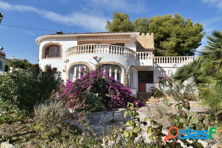 Villa con vistas al mar en Benissa Costa