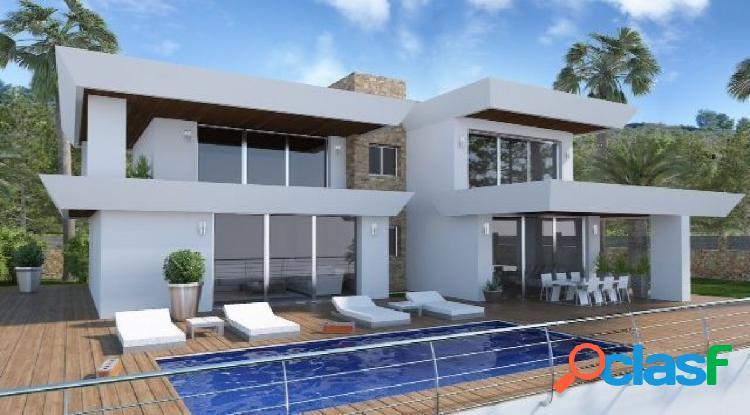Villa de Lujo Proyecto en Venta en Arnella, Moraira, Costa