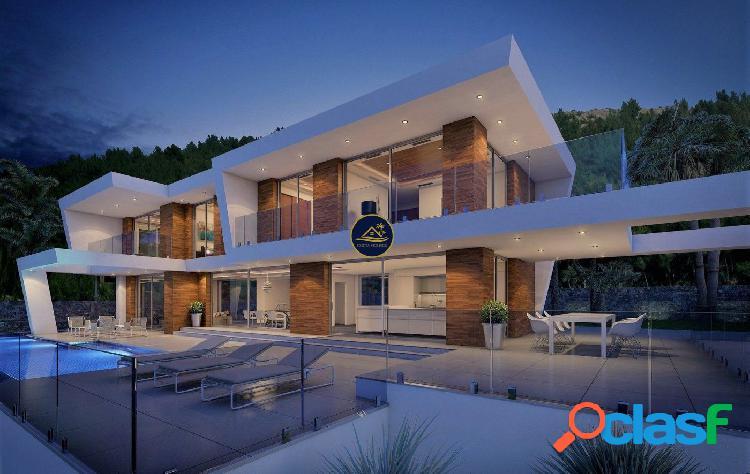 Villa de Lujo de diseño Moderno con Vistas al Valle y MAR